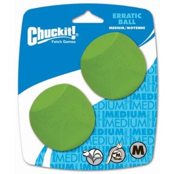 Chuckit Erratic Ball medium 6,5 cm 2 stk.