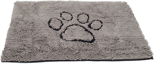 Dog Gone Smart Dirty Dog Doormat 79x51cm Grå M