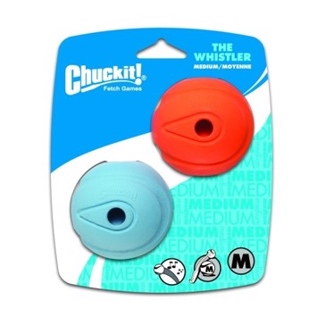 Chuckit Whistler Ball medium 6,5 cm 2 stk.