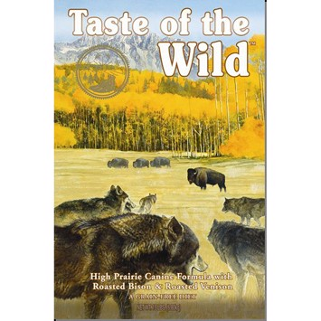 Taste Of The Wild High Prairie Bison & Vildt