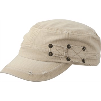 Snap Military Cap Khaki