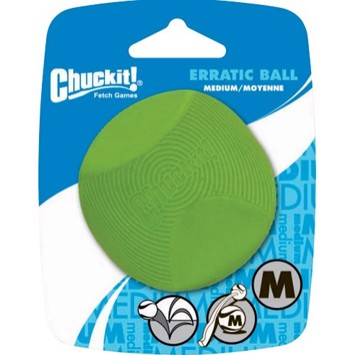 Chuckit Erratic Ball medium 6,5 cm 1 stk.