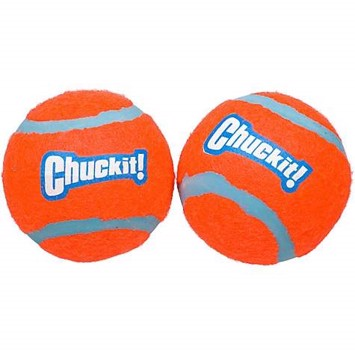 Chuckit Tennisbolde medium 6,5 cm 2 stk. orange