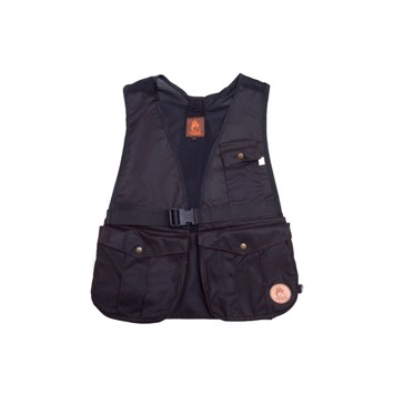 Firedog dummyvest Hunter oilskin brun AIR