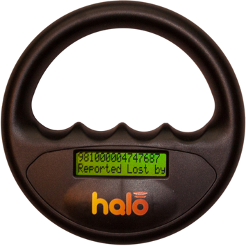 Microchip scanner Halo sort