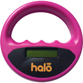 Microchip scanner Halo pink